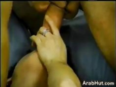 Arab Chick In A Hot Threesome