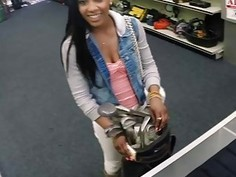 Black Goddess And The Golf Clubs