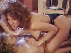 Krista Lane  Hot Babe Pleasing A Hairy Cock