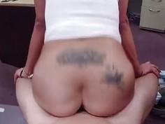 Big jug Latina is a slut for some cash