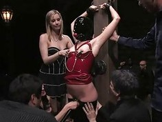 Pussy punishment for an delightsome sex serf