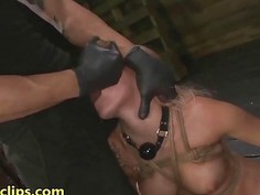 My step daughter is a deep throat slave