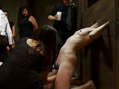 Sex slaves are suffering from wayout pleasuring