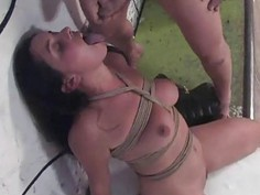 Untamed love tunnel drilling for captivating slut
