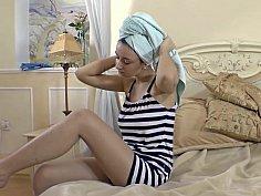 Hairy sailor girl
