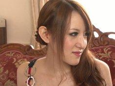 Charming oriental beauty Mai Shirosaki teases on cam