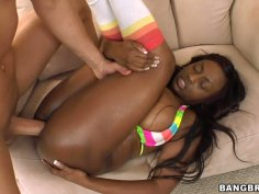 Jada Fire gives her big juicy ass for doggy style pounding