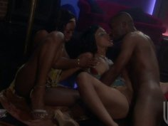 Jada Fire and Cassidy Clay gets fucked with one ebony guy