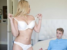 Blonde MILF is out for Fresh Meat