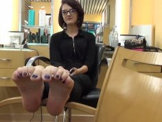 Ticklish Feet and toes 4