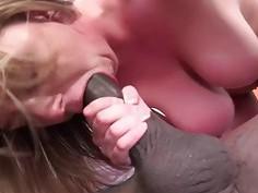 Brooke Wylde Having Her First Interracial Threesom