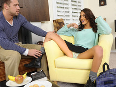 Janice Griffith & Johnny Castle in Naughty Book Worms