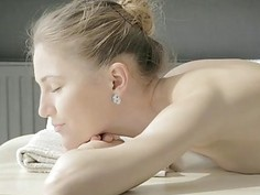 Sexy chick with wet shapes receives an fuckmate