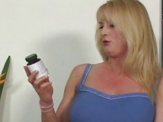 Black stud teaches horny blonde mom lesson and fucks her brains out