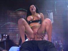 Multi-ethnic porn slut Audrey Bitoni is having steamy sex