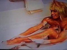Vintage Rare Bubble Bath Nude Erotica with Goddess Latia
