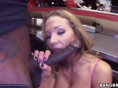 Nikki Sexx is a very naughty girl with big boobs