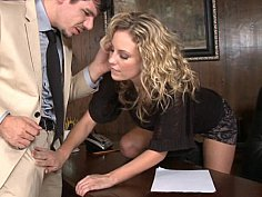 Combine business and pleasure by having sex at work