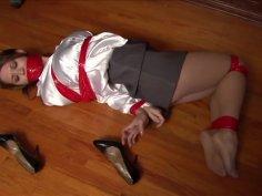 Chrissy tape gagged