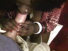 Amateur Busty African Honey Blowjob Doggy Style
