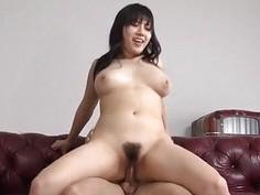 Azusa Nagasawa big tits lady goes nasty on a tasty dong?