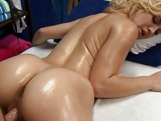 Angel needs a tough male dong to tame her slit