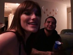 Babes spin the bottle game turns to orgy