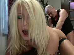 Submissive housewife gets fucked in the ass